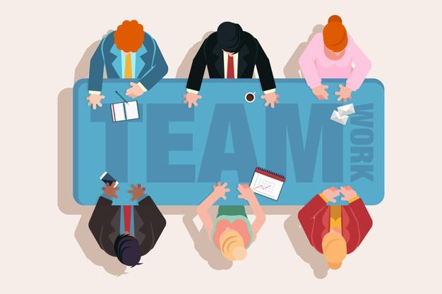 vista-superior-personas-trabajo-equipo-reunion_23-2148420589